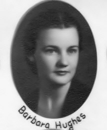 Barbara Hughes' law school graduation photo, 1938