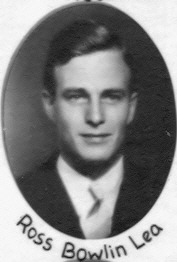 Ross Lea's law school graduation photo, 1938
